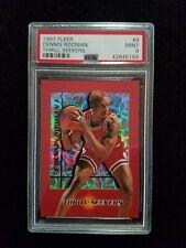 1997 Fleer Thrill Seekers #9 Dennis Rodman PSA 9 - Very Tough Insert Card!