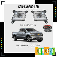For 2019 2020 2021 Chevy Silverado Next Generation LED Fog Lights Lamp
