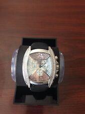 Techno Master Mens  Diamond Watch 0.50 Ct
