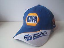 NAPA Auto Parts CFL Football Hat Blue White Hook Loop Baseball Cap