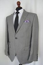 Men's Grey Alexandre Savile Row Slim Fit Suit 42R W36 L31 AA429
