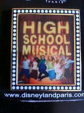 Pins HIGH SCHOOL MUSICAL DISNEY Disneyland Disneyworld NEUF