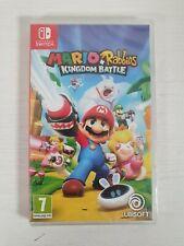 Mario + Rabbids Reino batalla -- Nintendo Switch -- vendedor del Reino Unido --
