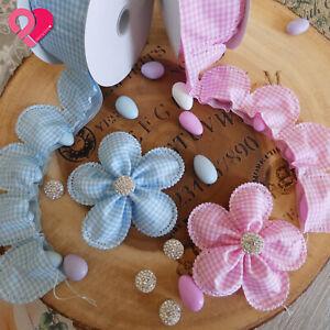Flower Petal Pull Bow Ribbon Pouch Jordan Almond Holder Baby Wedding Party Favor