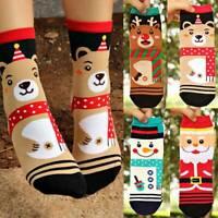 Christmas Socks Santa Claus Gift Kids Unisex Xmas Funny Socks Boy Girl Unisex