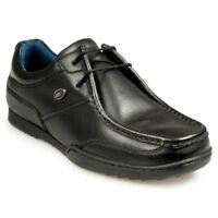 POD Proteus Mens School/Work Shoes in Black