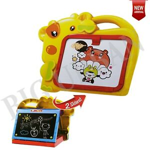 My First Kids 2-in-1 Doodle Drawing Board Double Sided Kids Doodle Sketchpad