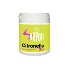 NAF OFF CITRONELLA GEL 750gm  mosquito fly insect repellent for horse & pony