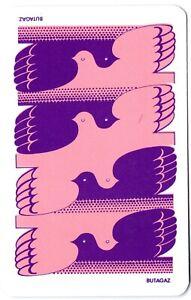 birds doves retro vintage swap card playing card
