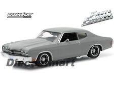 FAST & FURIOUS 1:43 DOM'S 1970 CHEVY CHEVELLE SS PRIMER GREY BY GREENLIGHT 86277