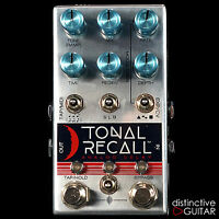 NEW CHASE BLISS AUDIO EFFECTS TONAL RECALL ANALOG DELAY WITH TAP TEMPO & PRESETS