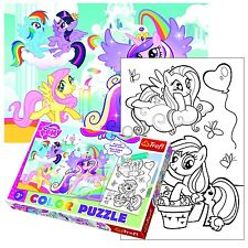 Trefl 20 Piece Colour Fun Kids Hasbro My Little Pony Girls Jigsaw Puzzle NEW