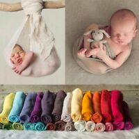 Newborn Baby Photography Photo Prop Stretch Wrap Long Ripple Wrap Blanket Rug