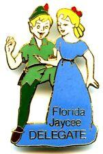 Jaycees 1986 Peter Pan & Wendy Florida Delegate Pin