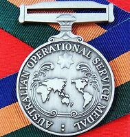 AUSTRALIAN ARMY NAVY AIR FORCE OPERATIONAL SERVICE MEDAL REPLICA BORDER OPS