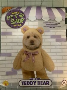 Rubie's Pet Shop Boutique Walking Teddy Bear (M)