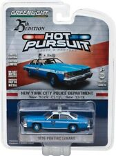 Greenlight 1:64 25TH Edition Hot Pursuit  NYPD 1976 Pontiac Lemans