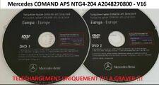 CARTES EUROPE 2019 Mercedes NTG4-204 DVD Comand Aps Europe A2048270800