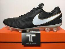 Nike Tiempo Legend VI FG ACC Real Leather ~ 819177 010 ~ U.K Size 9 ~ Euro 44
