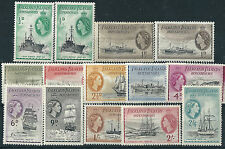 G500) Falkland Islands Dependencies. 1954/62. MM & MNH. SG  G26 to G37. cv £102+