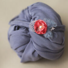 newborn headband with flowers, silk flower, newborn photography, photo prop
