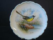 ROYAL ALBERT WOODLAND BIRDS COLLECTION YELLOW WAGTAIL PLATE