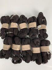 Habu Textiles Item XS-55, L25/3 Linen Color 1 Brown-10 skeins