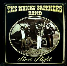 THE WRIGHT BROTHERS BAND first flight LP VG+ HG 10002 Private Press Rock Vinyl