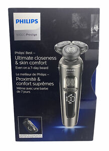 Philips S9000 Prestige Wet/Dry Electric Shaver with Qi Charging Pad (SP9860/13)