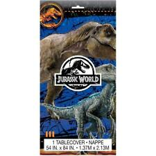 Jurassic World Dinosaur Birthday Table Cover 54 in x 84 in, 36 sq ft
