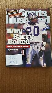 Sports Illustrated Barry Sanders Detroit Lions  August 9, 1999