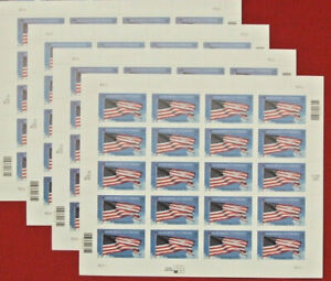 Four Sheets x 20 = 80 Of HONORING VETERANS 34¢ US USA Postage Stamps. Sc # 3508