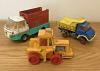 Bundle of vintage Matchbox Corgi Lesney diecast toys 1972