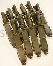 USGI US Military LAN-CAY M9BAYONET Knife + Scabbard AUTHENTIC SURPLUS LANCAY