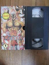 Tekken volume 1 de Sugishima Kunihisa, VHS, Action/Manga(Playstation)