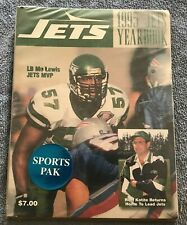 Vintage New York Jets 1995 95 Team Yearbook - Sealed New