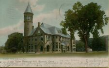 1908 Slater Memorial Hall in Norwich Connecticut CT Postcard A13
