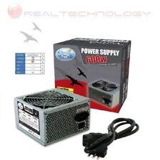 ALIMENTATORE 600 WATT VENTOLA 12CM ATX BTX 3 SATA 2 IDE MOLEX 1 PCI ON/OFF 600W