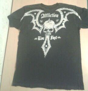 AFFLICTION T-Shirt Größe L *Rare & Ungetragen* von P&C 100% Original