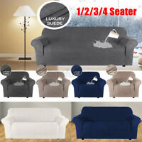 Sofa Covers 1/2/3/4 Seater Stretch Lounge Slipcover Protector Couch Washable 🔥