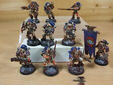 10 forgeworld caos MKIII mundo caprichosos Eater Marines Pintado (1552)