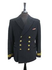 "Merchant Navy Lieutenant Officers Wool Jacket - Military Uniform - Chest 38"""