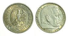 pcc1221_1) GERMANY THIRD REICH 5 Reichsmark 1935  SILVER