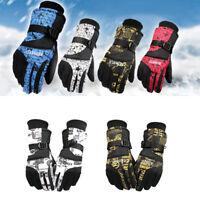Men Women Winter Warm Windproof Ski Gloves Snowboard Waterproof Skiing Gloves
