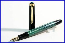 OB Nib 1957 PELIKAN 400nn green-striped with flex up to BB Pen 14C 585 Gold