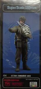 VERLINDEN #494 WWII US Tank Commander Resin Figur in 1:16