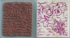 ROSE & ROMANCE - RUBBER STAMPEDE 'ROSE & ROMANCE' WOOD MOUNTED RUBBER STAMP
