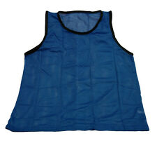 NEW BLUE SCRIMMAGE VEST (YOUTH) CHEAP SINGLE SOCCER PINNIE MESH BIB PRACTICE