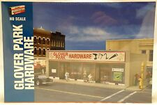 HO Scale Glover Park Hardware Structure Kit - Walthers #933-3465