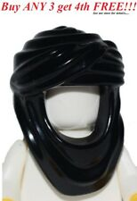 ☀️NEW Lego Boy/Girl Minifig Hat BLACK KEFFIYEH HEAD WRAP -Prince of Persia Hood